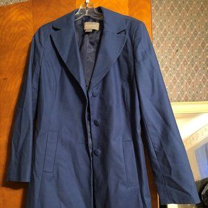 Vintage Ann Taylor Trench Coat Size M